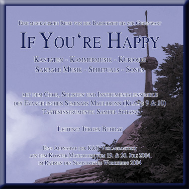 Workshop 2004 - If you are happy